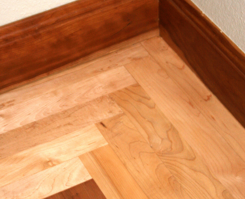 american cherry hardwood floor