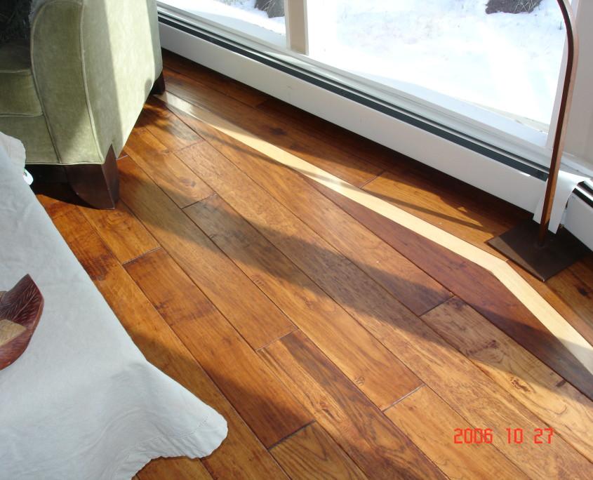 Boulder hardwood floor installation