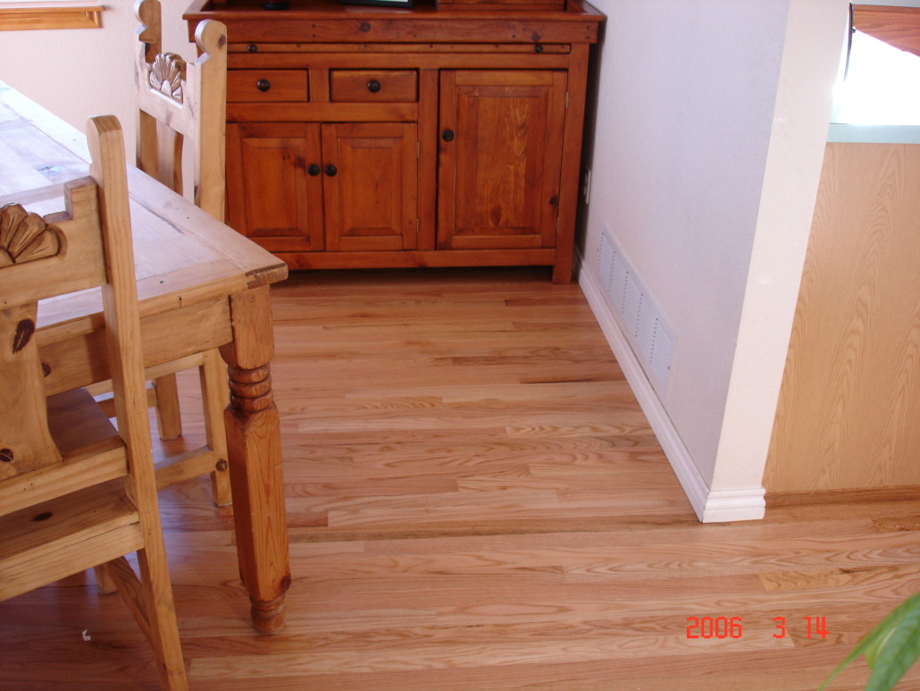 Magnus anderson ideal hardwood flooring of boulder for Natural red oak floors