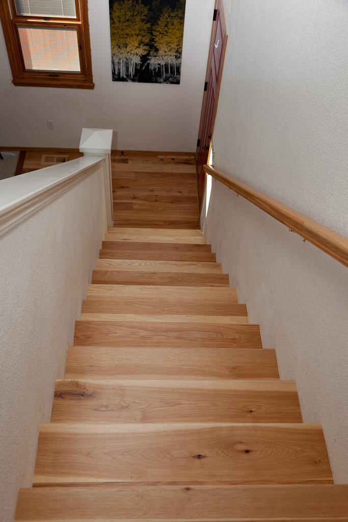 Magnus anderson ideal hardwood flooring of boulder for Hardwood floors on stairs