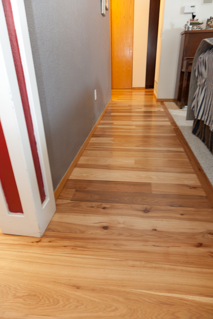 Magnus anderson ideal hardwood flooring of boulder for Different flooring throughout house