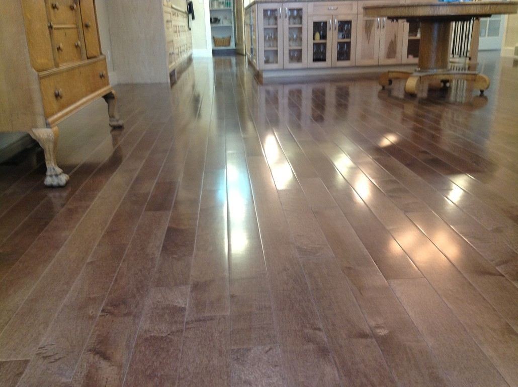 Prefinished Lighter Stained Maple Inquire About This Floor