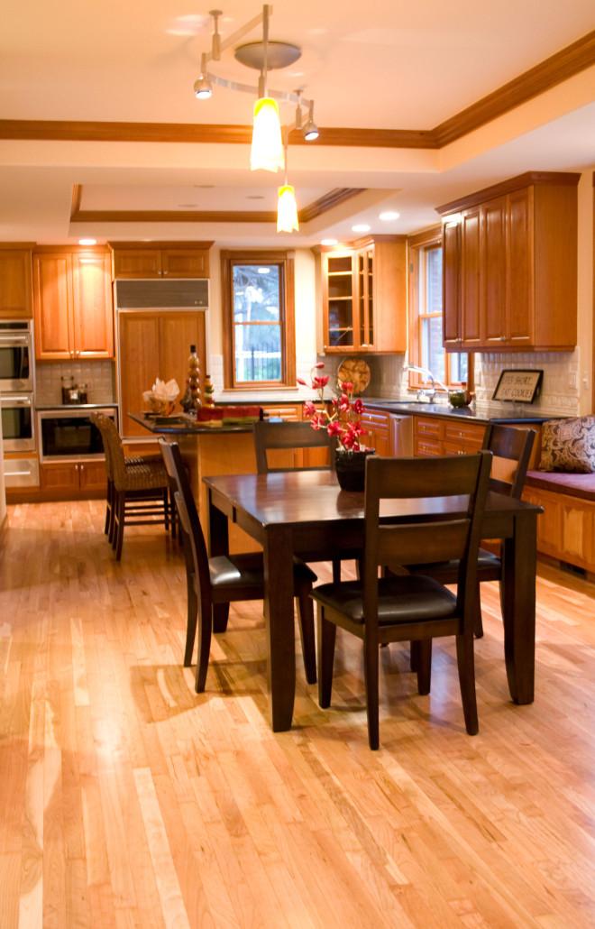 american cherry hardwood floor