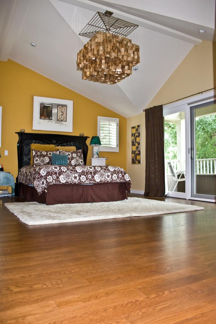 wood floor installation