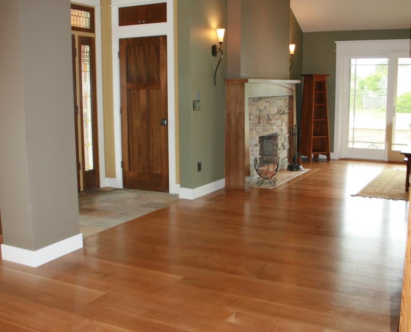 Boulder hardwood floor