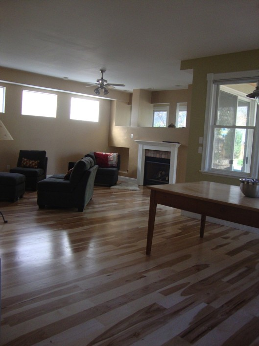 dust free wood floor refinishing