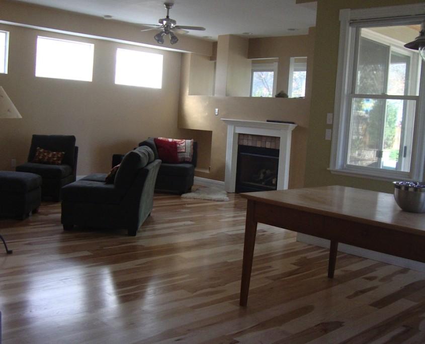 dust free wood floor refinishing