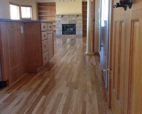 ash hardwood floor