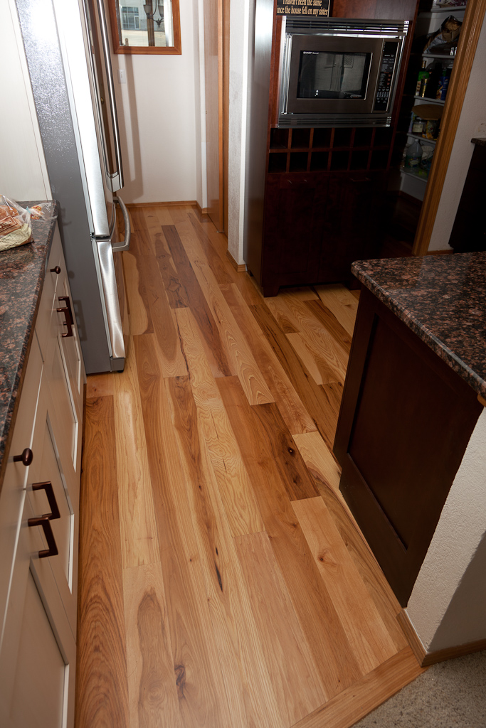Hickory Floor And Kitchen Remodel Magnus Anderson