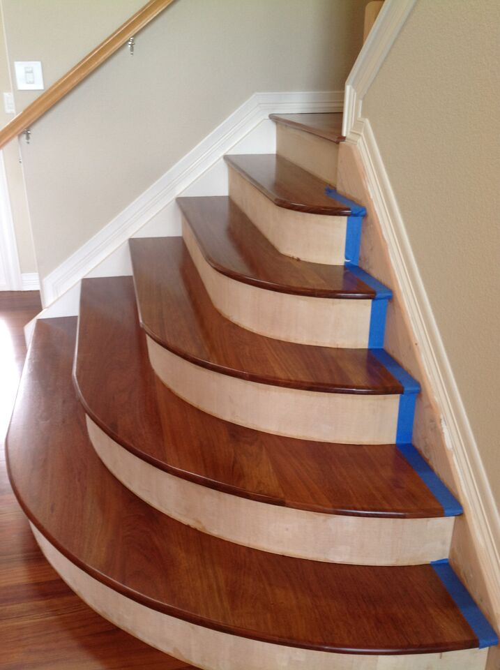 Curved Stairs Magnus Anderson Hardwood Flooring
